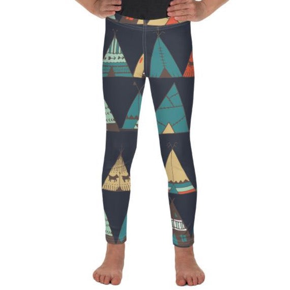 Teepee Leggings - Boho Kiddo Co.