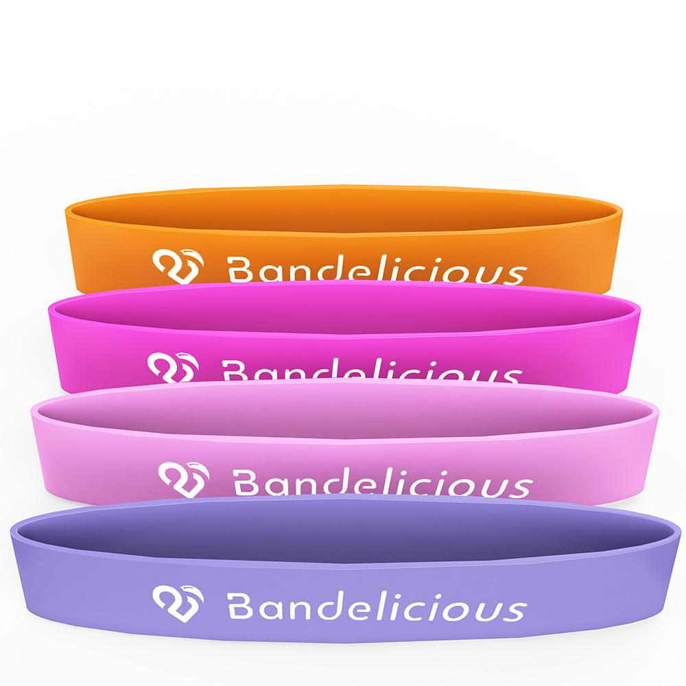 Bandelicious Women's Mini Exercise Bands