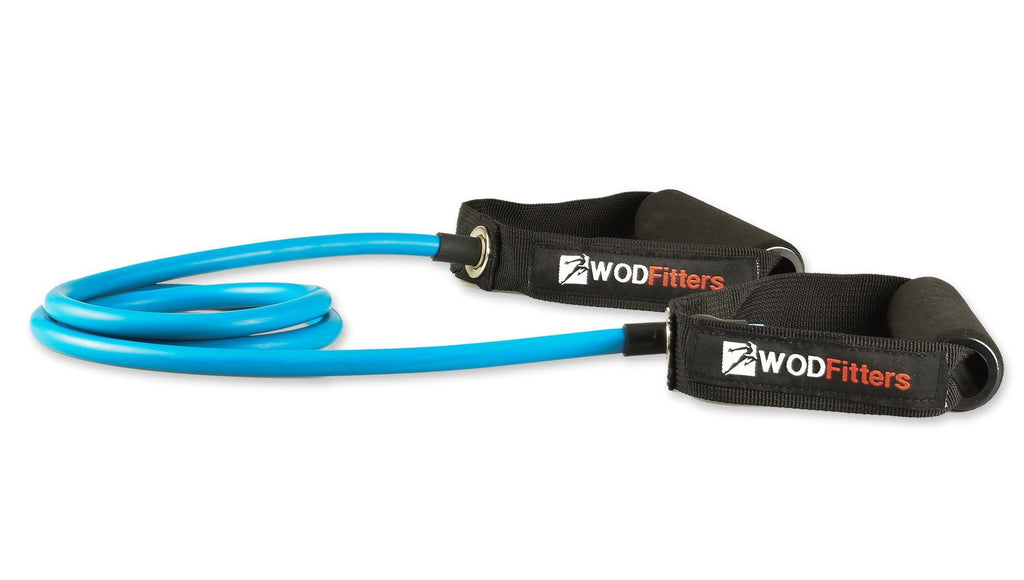WODFitters Tube Exercise Resistance Bands With Handles