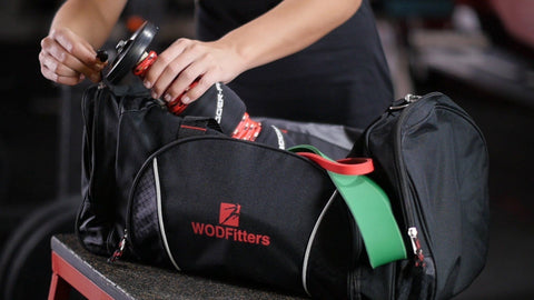 WODFitters Cross Training Gym Bag with Shoe Tunnel
