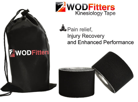 WODFitters Kinesiology Tape - 2 Pack
