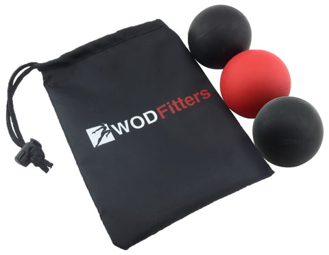 WODFitters Mobility Lacrosse Balls for Massage