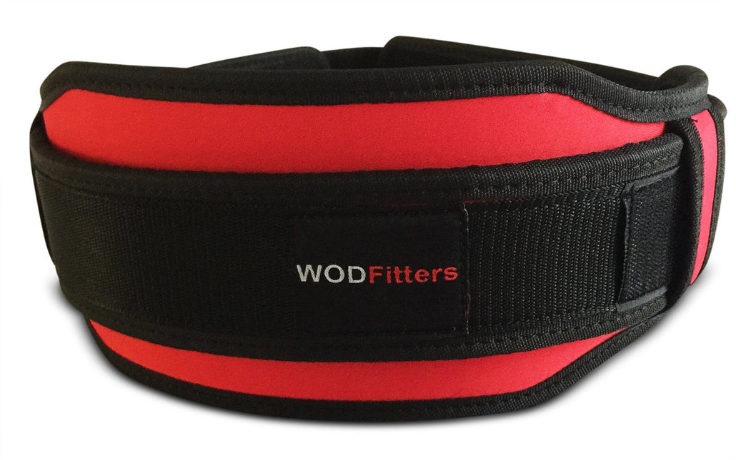 WODFitters Weight Lifting Belt For Men & Women – Premium Quality, Durable, Breathable Material – Lightweight, Adjustable Design