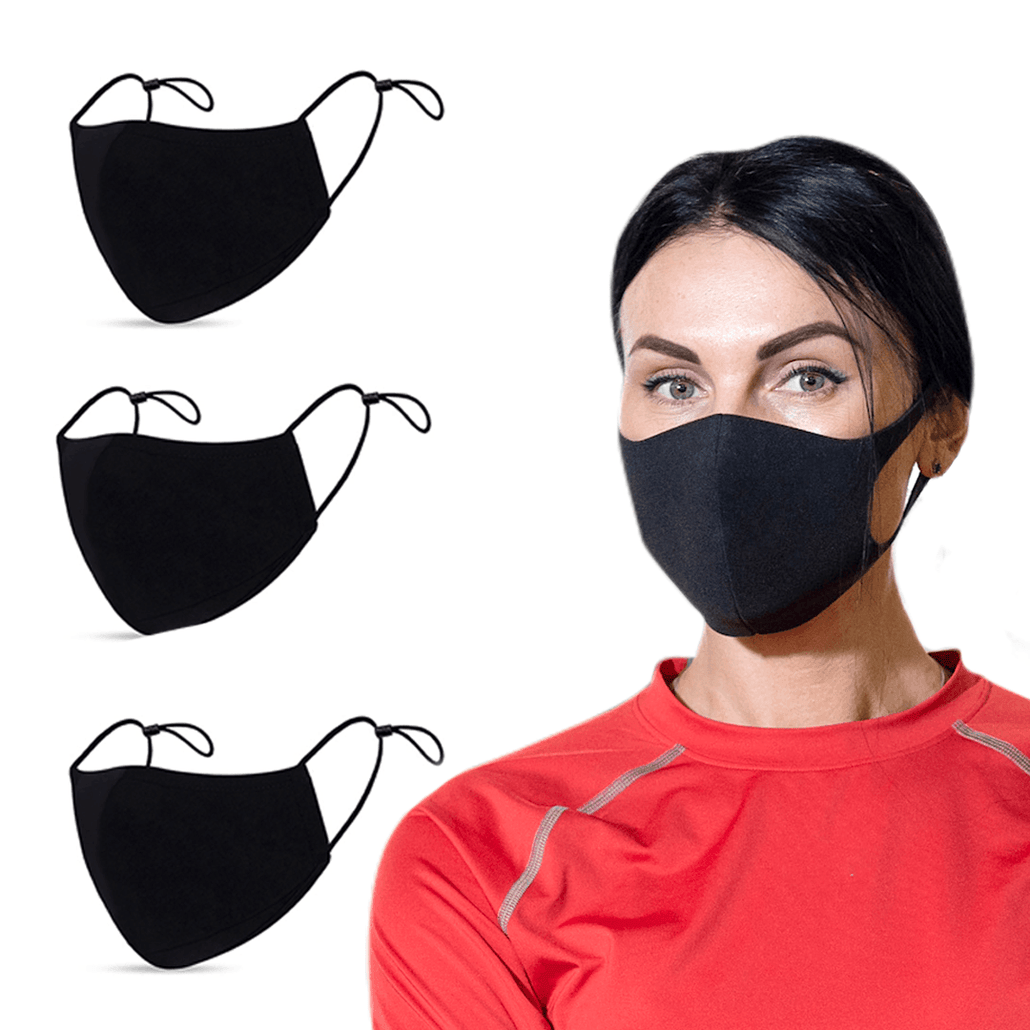 """Safe at Gym"" Face Masks with Silverplus® Technology"