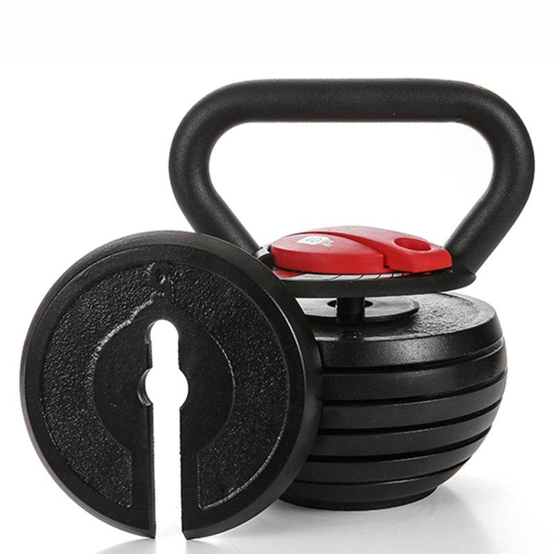 """Toughest Gains"" Adjustable Kettlebell - 10 - 40 lbs + FREE Shipping"