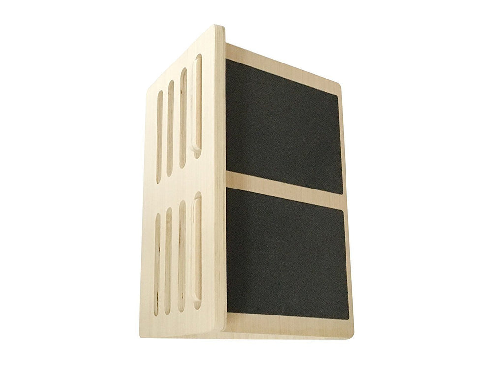Wodfitters Wooden Slant Board For Calf Stretchingadjusts To 4