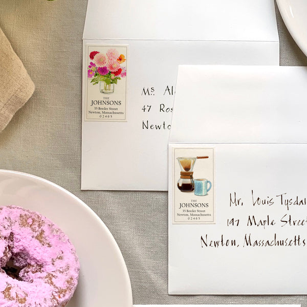 Panoramic Return Address Labels