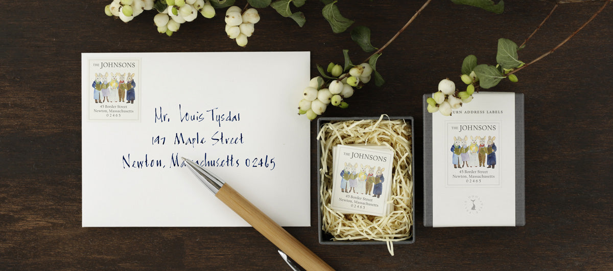 Return Address Labels by Felix Doolittle