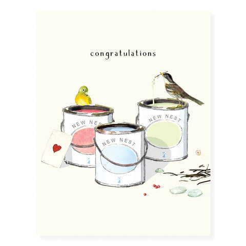 New Nest - Occasion Card by Felix Doolittle