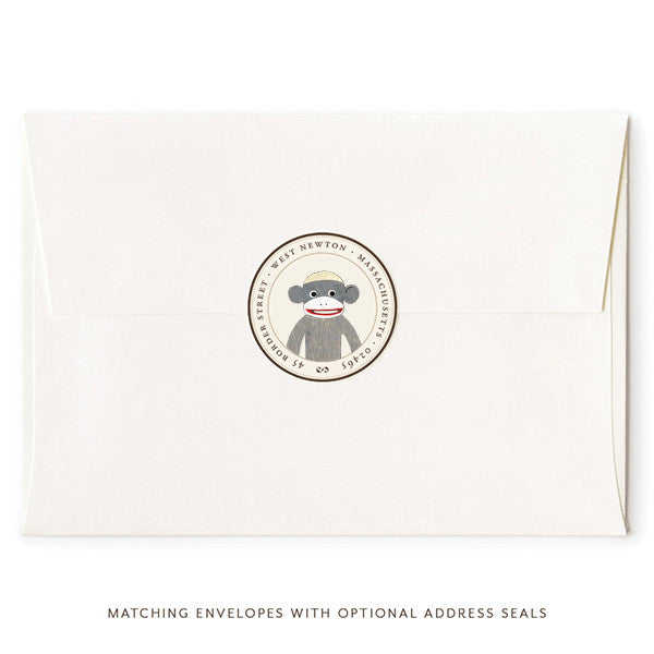 Monkey Business Small Note Cards By Felix Doolittle