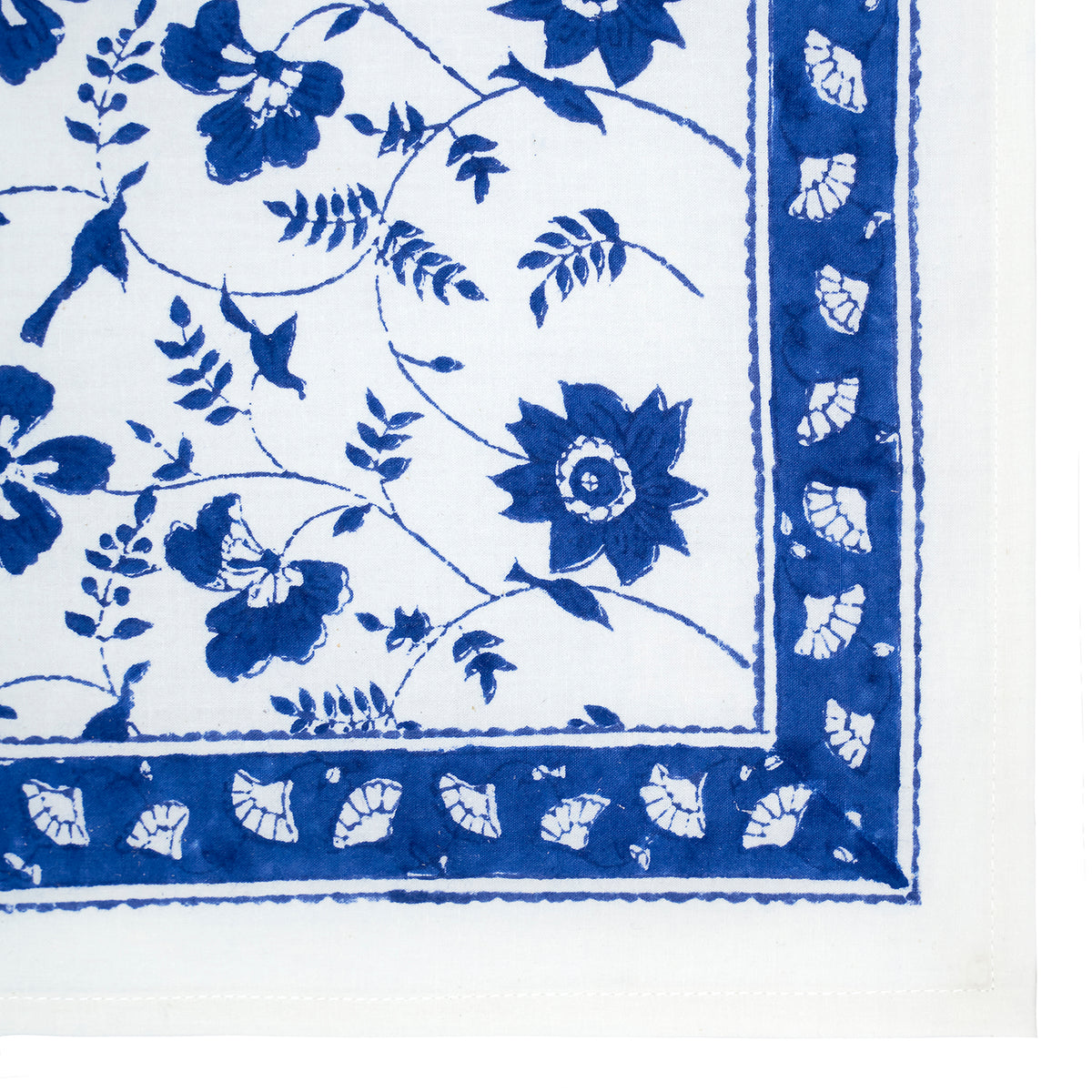BLUE FLOWER NAPKIN