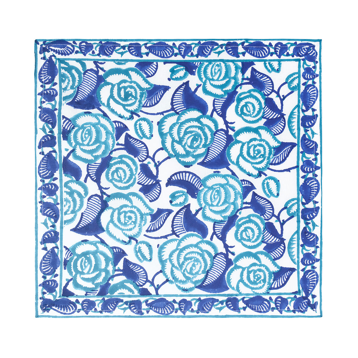 BLUE ROSE NAPKIN