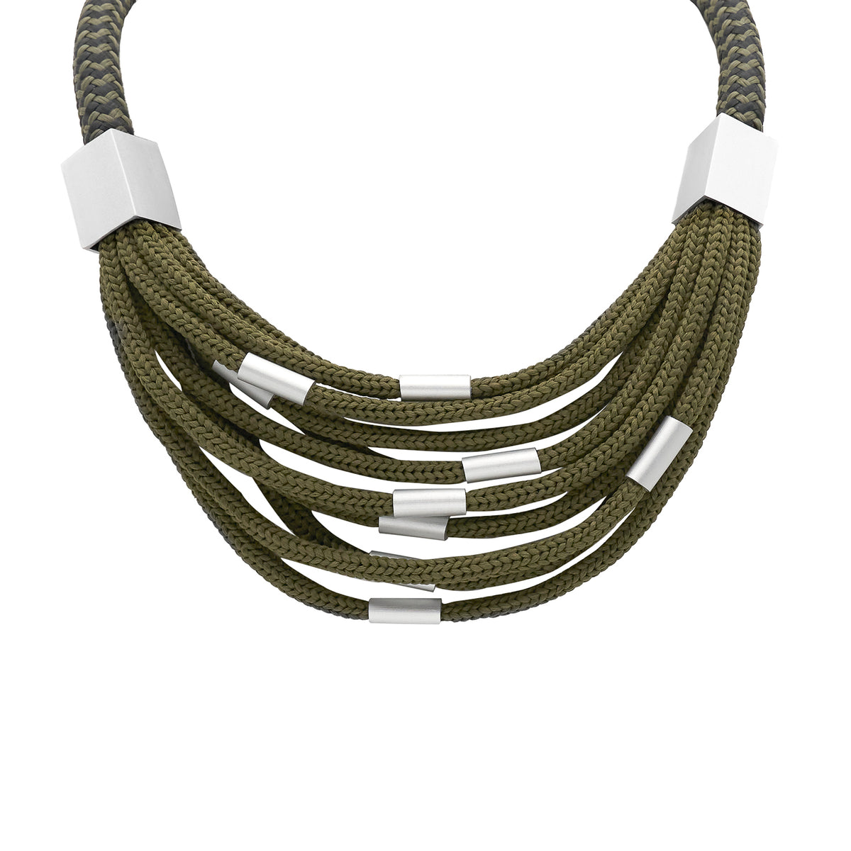 ROPE NECKLACE KHAKI CB13