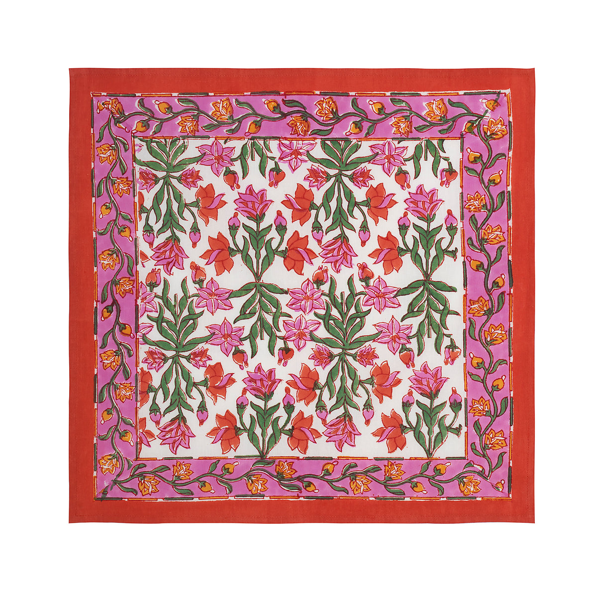 INDIAN FLOWER NAPKIN