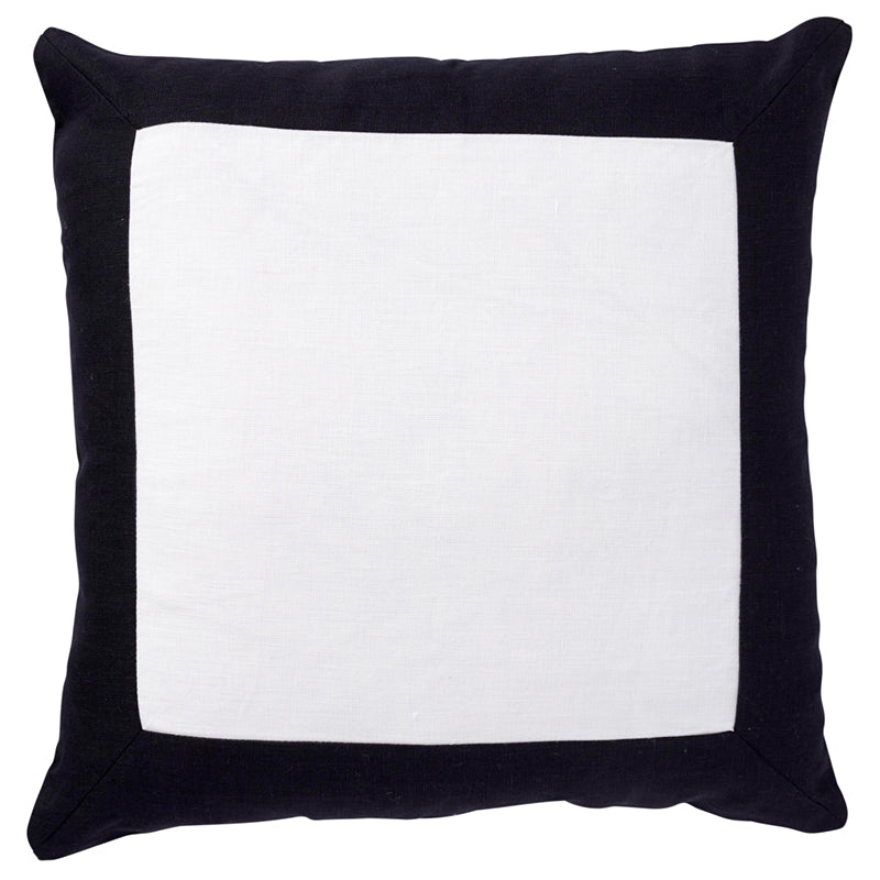 LINEN BORDER CUSHION