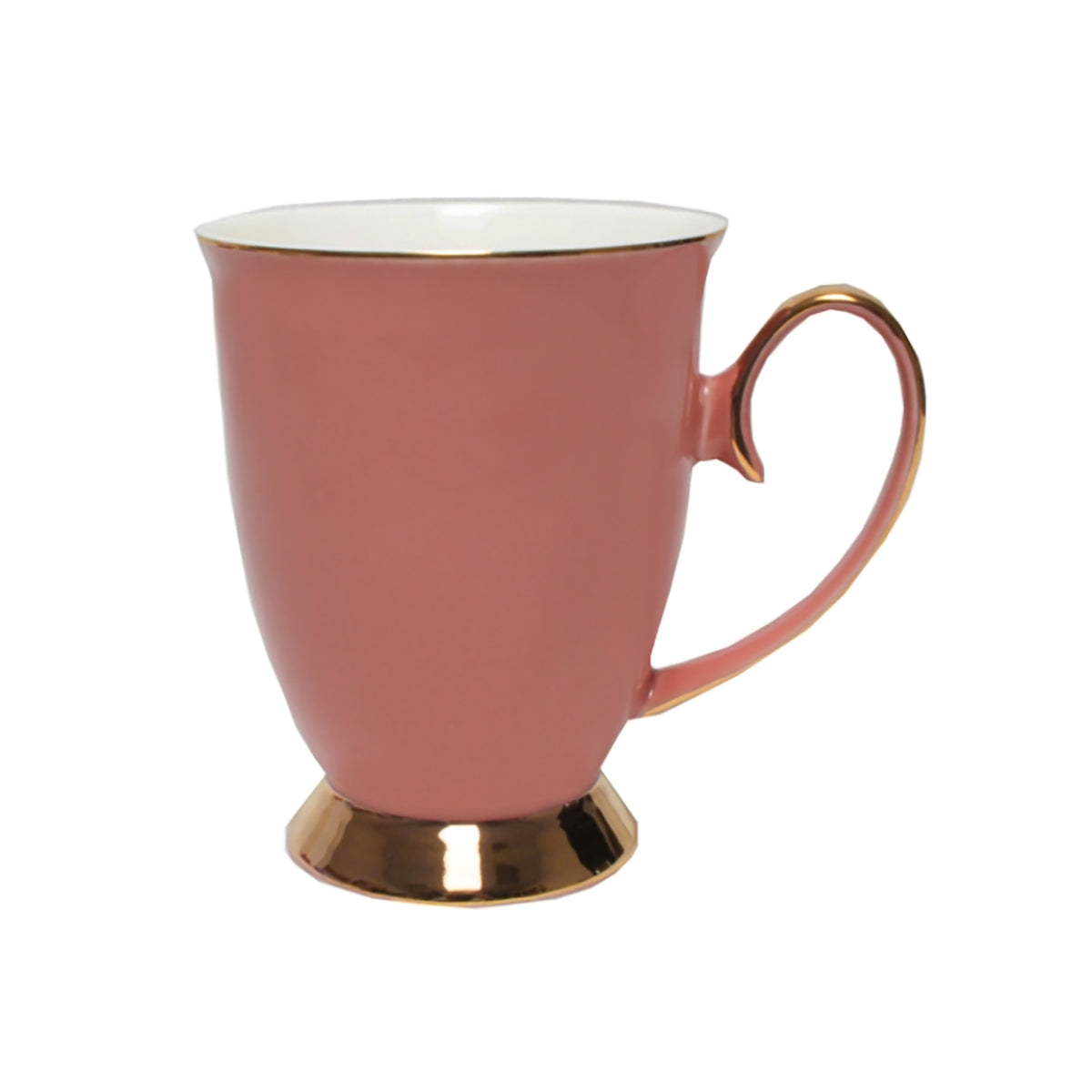 VINTAGE ROYALE MUG | OLD ROSE