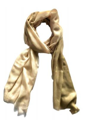 OMBRE SCARF | TAUPE