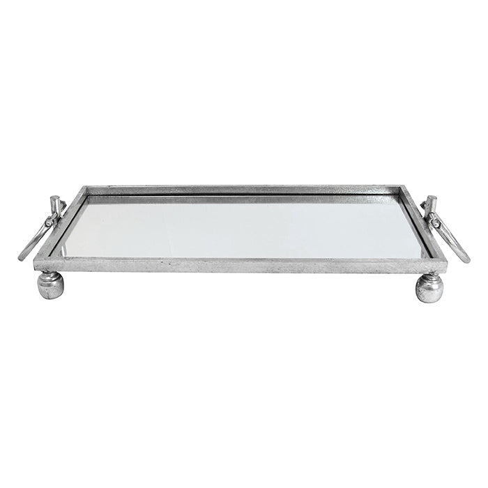 ARGENTO MIRRORED TRAY | SMALL