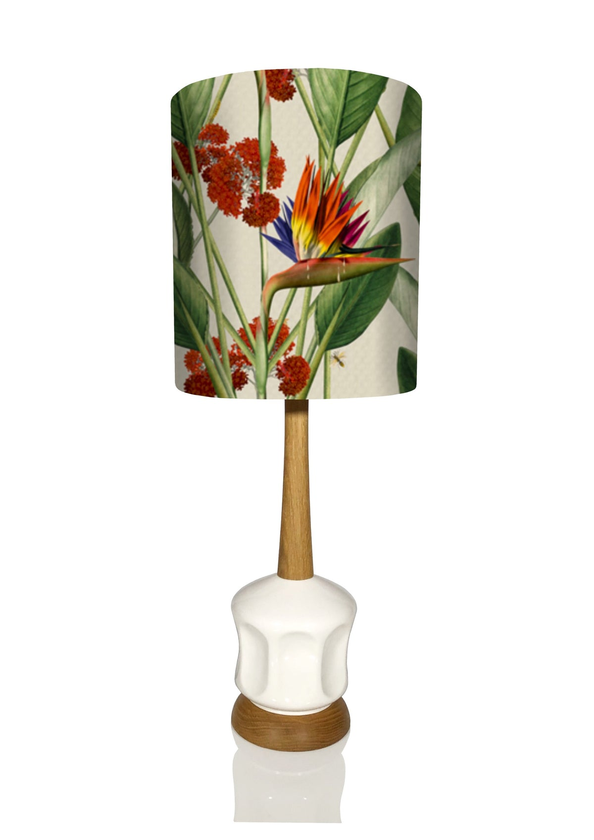Vega Lamp Small- Bird of Paradise