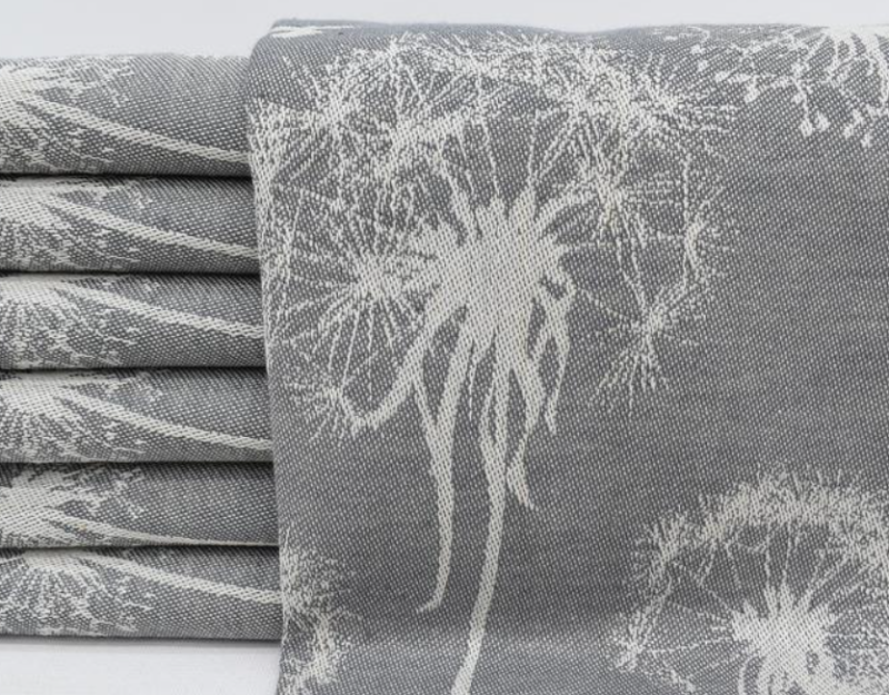 TURKISH TEA TOWEL | GREY FLORAL