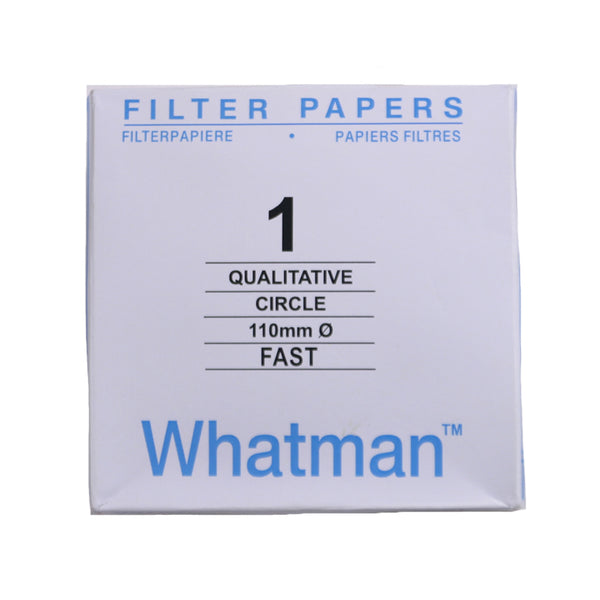 Filter Paper 11 cm 100 Discs Qualitative Fast 101 - Avogadro's Lab Supply