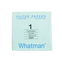 Filter Paper 9 cm 100 Discs Qualitative Fast 101