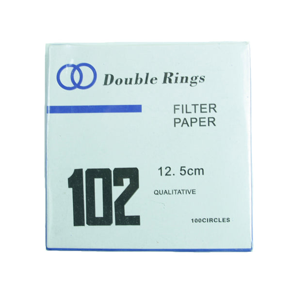 Filter Paper 12.5 cm 100 Discs Qualitative Medium 102 - Avogadro's Lab Supply