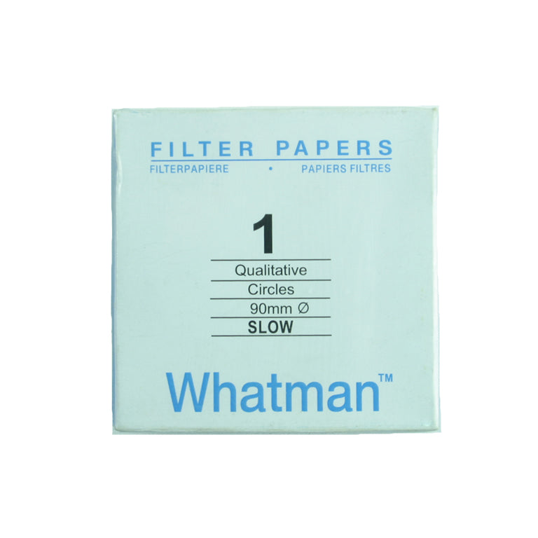 Filter Paper 9 cm 100 Discs Qualitative Slow 103 - Avogadro's Lab Supply