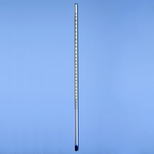 "PTFE Coated Accu-Safe 12"" Lab Thermometer -10 to 260 °C - Avogadro's Lab Supply"