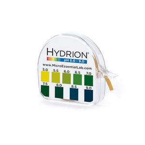 Hydrion Brilliant Mikro 95 pH 5.0 - 9.0  (0.5 pH Increments) - Avogadro's Lab Supply