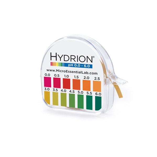 Hydrion Brilliant 96 pH 0.0 to 6.0 (0.5 pH Increments) - Avogadro's Lab Supply