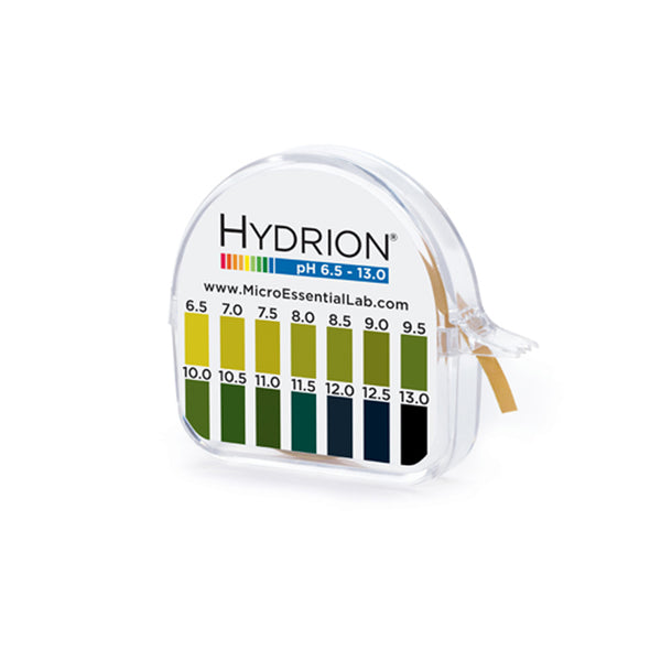 Hydrion Brilliant 98 pH 6.5 - 13.0 (0.5 pH Increments) - Avogadro's Lab Supply