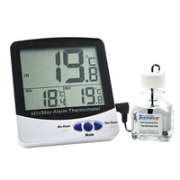 Certified Digital Incubator Thermometer -50  to 70 C Cert @ +37ºC - Avogadro's Lab Supply