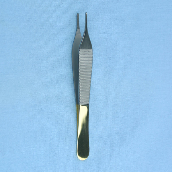 4.75 Adson Tissue Forceps Tungsten Carbide - Avogadro's Lab Supply