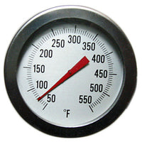 "2"" Dial Thermometer 50 to 550 F w/ 12"" Stem - Avogadro's Lab Supply"