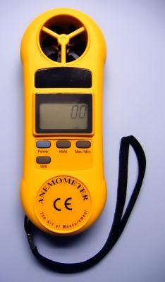 Digital Anemometer - Avogadro's Lab Supply