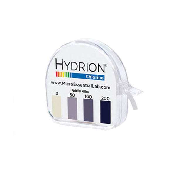 Hydrion Micro Chlorine Test 10 to 200 ppm - Avogadro's Lab Supply