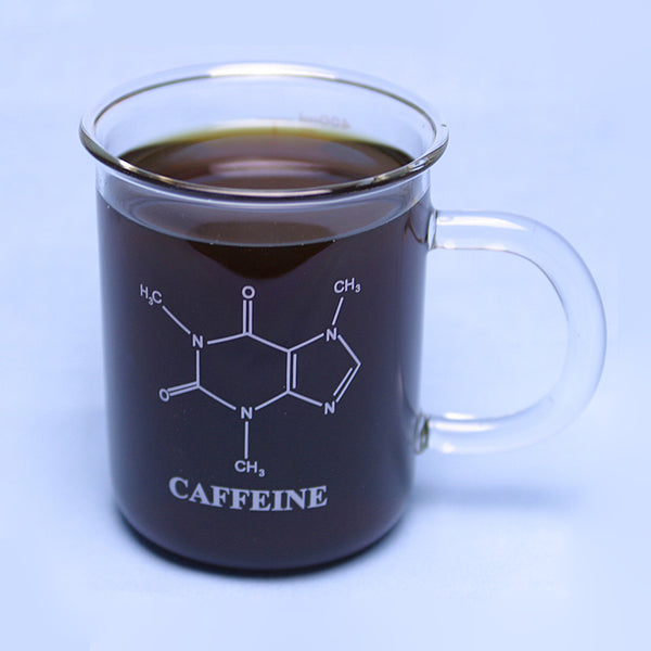 400 mL Graduated Caffeine Mug - Avogadro's Lab Supply