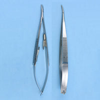 "Castro Viejo Needle Holder Curved 5.5"" - Avogadro's Lab Supply"