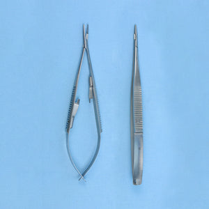 "Castro Viejo Needle Holder Straight 7.5"" - Avogadro's Lab Supply"