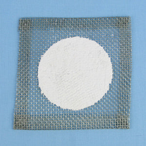 "5 x 5 Wire Gauze w/ 3"" Ceramic Center Heat Shield - Avogadro's Lab Supply"