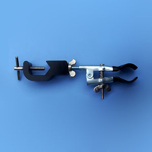 Coated Utility Clamp with Aluminum Muff - Avogadro's Lab Supply