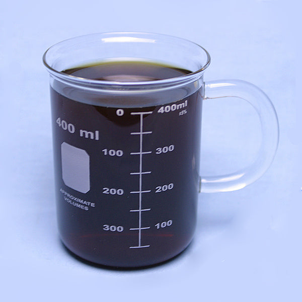400 mL Graduated Coffee Mug - Avogadro's Lab Supply