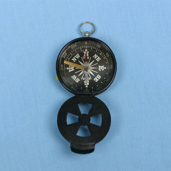 Magnetic Compass w/ Hinged Cover - Avogadro's Lab Supply
