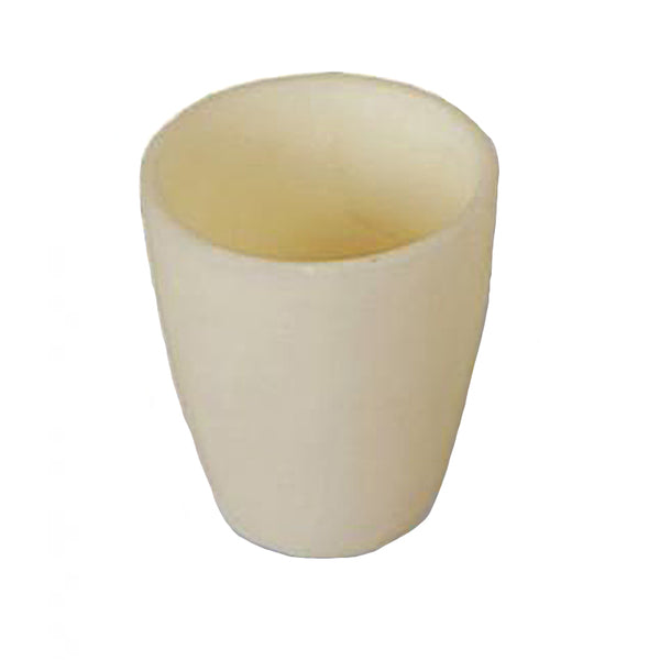 100 mL High Alumina Crucible Conical - Avogadro's Lab Supply