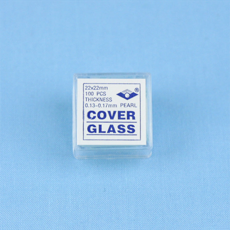 100 Microscope Slide Cover Slips - Avogadro's Lab Supply