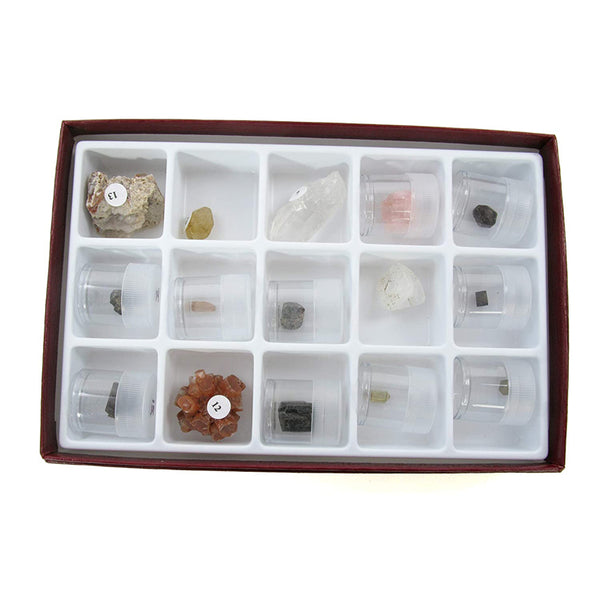 Natural Crystal Collection - Avogadro's Lab Supply