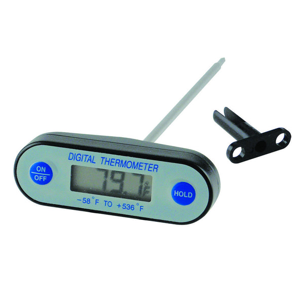 Waterproof Digital T- Handle Thermometer -58 to 536 F - Avogadro's Lab Supply