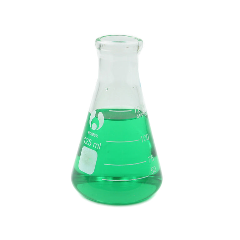 125 mL Erlenmeyer Flask - Avogadro's Lab Supply