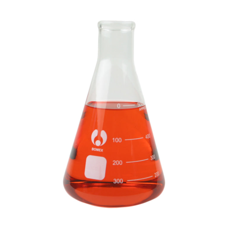500 mL Erlenmeyer Flask - Avogadro's Lab Supply